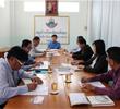 ประชุมหารือข้อราชการของผู้บริหารโรงเรียน