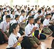 กิจกรรมค่ายคุณธรรมนักเรียน ชั้น ม.1 และ ม.4