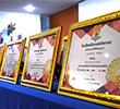 รับมอบเกียรติบัตรข้าราชการครูและบุคลากรทางการศึกษาดีเด่น ประจำปีการศึกษา 2563